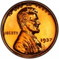 1937 Lincoln Wheat Pennies