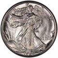 1929 Walking Liberty Half Dollar