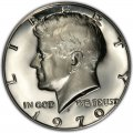 1970 Kennedy Half Dollar Value