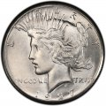 1927 Peace Dollar Value