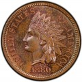 1880 Indian Head Pennies