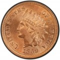 1869 Indian Head Pennies
