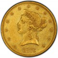 1873 Liberty Head $10 Gold Eagle