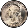 1934 Washington Quarter Value