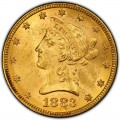 1883 Liberty Head $10 Gold Eagle