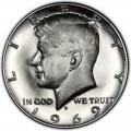 1969 Kennedy Half Dollar Value