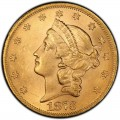 1873 Liberty Head Double Eagle