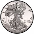 2001 American Silver Eagle Value