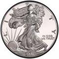 2001 American Silver Eagle Value