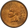 1873 Indian Head Pennies