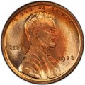 1923 Lincoln Wheat Pennies