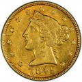 1849 Liberty Head Half Eagles