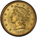 1860 Liberty Head Half Eagles