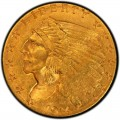 1914 Indian Head $2.50 Quarter Eagle