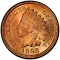 1898 Indian Head Pennies