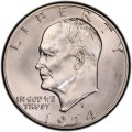 1974 Eisenhower Dollar Value