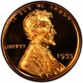 1955 Lincoln Wheat Pennies
