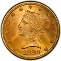 1882 Liberty Head $10 Gold Eagle