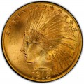 1913 Indian Head Gold $10 Eagle