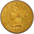 1849 Liberty Head $10 Gold Eagle