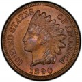 1890 Indian Head Pennies