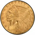 1911 Indian Head $2.50 Quarter Eagle