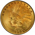 1909 Indian Head Gold $10 Eagle