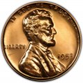 1953 Lincoln Wheat Pennies