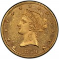 1859 Liberty Head $10 Gold Eagle