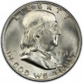 1951 Franklin Half Dollar
