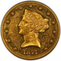1877 Liberty Head $10 Gold Eagle
