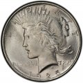 1925 Peace Dollar Value