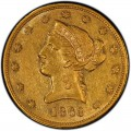 1863 Liberty Head $10 Gold Eagle