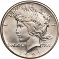 1921 Peace Dollar Value