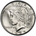 1934 Peace Dollar Value