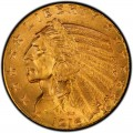 1916 Indian Head $5 Half Eagle