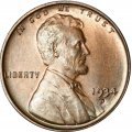 1934 Lincoln Wheat Pennies
