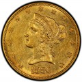 1880 Liberty Head $10 Gold Eagle