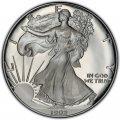 1992 American Silver Eagle Value