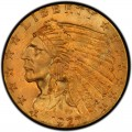 1927 Indian Head $2.50 Quarter Eagle