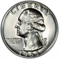 1963 Washington Quarter Value