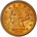 1878 Liberty Head $2.50 Gold Quarter Eagle Coin