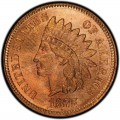 1875 Indian Head Pennies