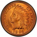 1894 Indian Head Pennies