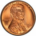 1945 Lincoln Wheat Pennies