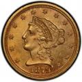 1879 Liberty Head $2.50 Gold Quarter Eagle Coin