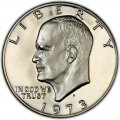 1973 Eisenhower Dollar Value