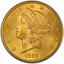 1888 Liberty Head Double Eagle