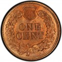 1875 Indian Head Pennies Values
