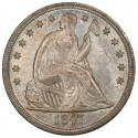1847 Seated Liberty Silver Dollar